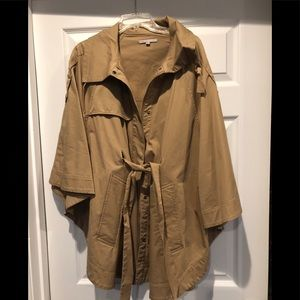 Gap poncho jacket size M
